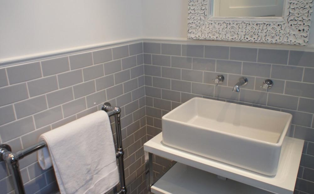 Metro Tiles In Haxby Bathroom Tim Co Plumbing
